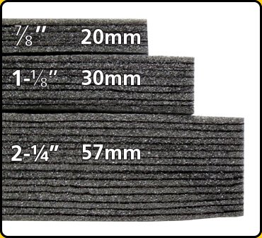12x16 Cut To Size Pieces Kaizen Foam Inserts For Tool