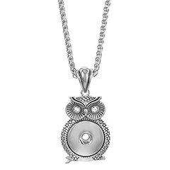 Ginger Snap Interchangeable Owl Necklace