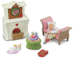 Fisher-Price Loving Family 2-In-1 Seasonal Room Set