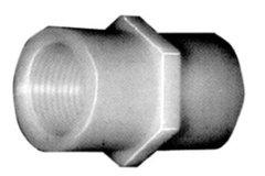 "910N-4D - Nylon Coupling 1/2"" NPT (F)"