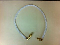 408A3 -3.5FT spray hose with 90% elbow on nipple and coupler