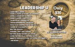 Leadership U Drop Card
