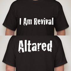 I Am Revival/Altared T-shirt
