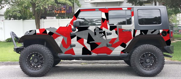 3m Gray Kryptek Camo Vehicle Wrap Kit Check Out Our