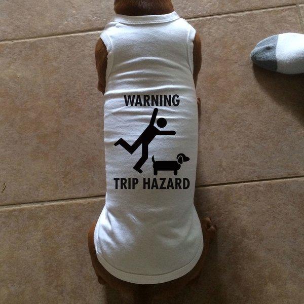 Warning: Trip Hazard