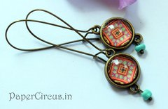 Cabochon Earring A9