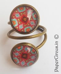 Double Cabochon Ring H1