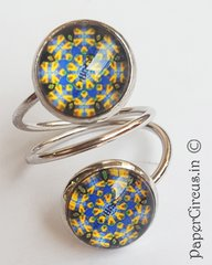 Double Cabochon Ring H4