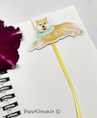 Dog Magnetic Paper Bookmark D1