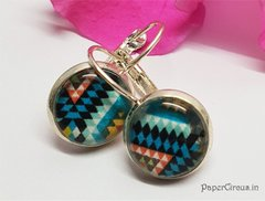 Cabochon Earring A16