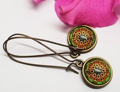 Cabochon Earring A20