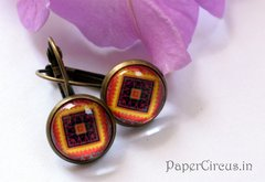 Cabochon Earring A7