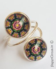 Double Cabochon Ring H2