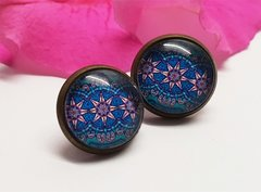 Cabochon Earring A22