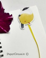 Bird Magnetic Paper Bookmark D3