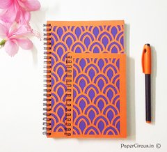 Orange-Violet (Set of 2)
