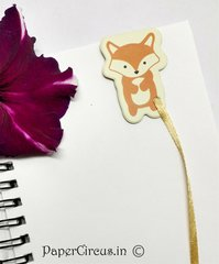 Fox Magnetic Paper Bookmark D1