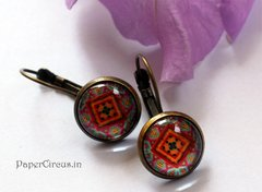 Cabochon Earring A3