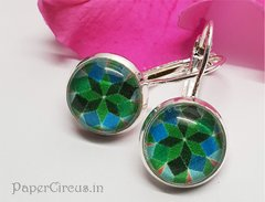 Cabochon Earring A14
