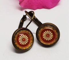 Cabochon Earring A23