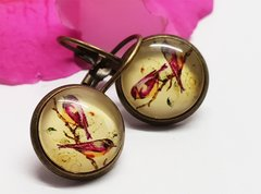 Cabochon Earring A21