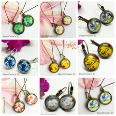 Hamper I - 5 Cabochon Earrings
