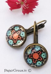 Cabochon Earring A5