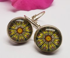 Cabochon Earring A25