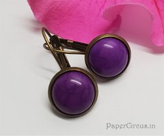 Cabochon Earring A12