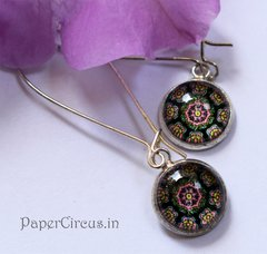 Cabochon Earring A10