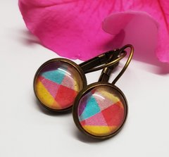 Cabochon Earring A17