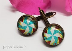 Cabochon Earring A13