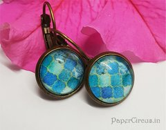 Cabochon Earring A15