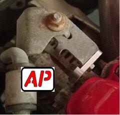AP TAB Power steering tube bracket. GEN 1 MAZDASPEED 3 POWER STEERING TUBE BRACKET FOR FMIC CARS