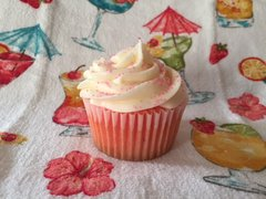 Strawberry Margarita Cupcake (per dozen)