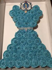 Cinderella Cupcake Cake
