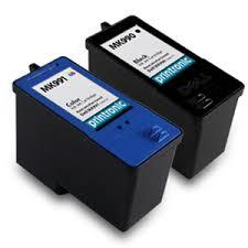 Dell MK990, MK992, NW173, NW175, 310-8388, 310-8386, 330-0969 GNGKF Black MK991, MK993, NW171, NW174, 56H1G, 310-8387, 310-8389 310-0972 Tri-Color Series 9 Compatible Inkjet Cartridge