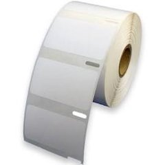 "Dymo 30334 (4 rolls) Black on White Compatible 2.25"" x 1.25"" Medium Multipurpose Thermal Labels"