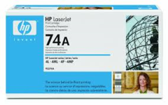 HP 92274A 74A OEM Laser Toner Cartridge