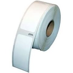 "Dymo 30336 (4 rolls) Black on White Compatible 1"" x 2.1"" Small Thermal Shipping Labels"