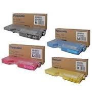 Panasonic KX-PDPK5 Black KX-PDPC5 Cyan KX-PDPM5 Magenta KX-PDPY5 Yellow Compatible Toner Cartridge