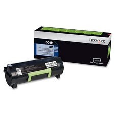 Lexmark 50F1000 50F1H00 Genuine Toner Cartridge. Lexmark 50F0Z00 Compatible Drum Unit