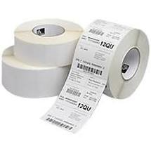 "Zebra DTL4X6-3C 4"" x 6"", 3"" Core, (2 Rolls) Compatible Direct Thermal Labels Roll. 1000 pcs Per Roll"