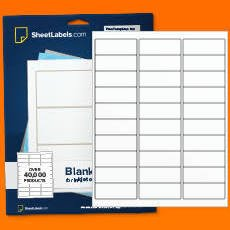 "Avery 5160 1"" x 2.625"" Compatible Alternative Easy Peel Address labels, 30 Labels Per Sheet. 100 Sheets Per Pack. 3000 Labels"