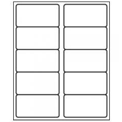 "Avery 5163 2"" x 4"" Compatible Alternative Easy Peel Address labels, 10 Labels Per Sheet. 100 Sheets Per Pack, 1000 Labels"
