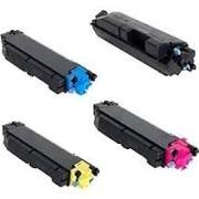 Kyocera Mita 1T02NS0US0 TK5152K Black, 1T02NSCUS0 TK5152C Cyan, 1T02NSBUS0 TK5152M Magenta, 1T02NSAUS0 TK5152Y Yellow TK5152 Compatible Toner Cartridge