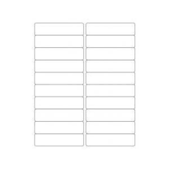 "Avery 5161 1"" x 4"" Compatible Alternative Easy Peel Address labels, 20 Labels Per Sheet. 100 Sheets Per Pack"