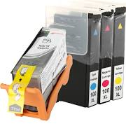 Lexmark 100XL 14N1068 Black 14N1069 Cyan 14N1070 Magenta 14N1071 Yellow Compatible Inkjet Cartridge