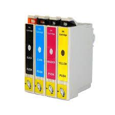 Epson 127 T127120 Black T12720 Cyan T127320 Magenta TT127420 Yellow Compatible Inkjet Cartridge