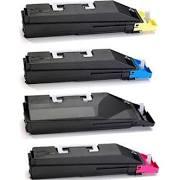 Copystar 1T02JZ0CS0 TK869K Black 1T02JZCCS0 TK869C Cyan 1T02JZBCS0 TK869M Magenta 1T02JZACS0 TK869Y Yellow TK869 Compatible Toner Cartridge